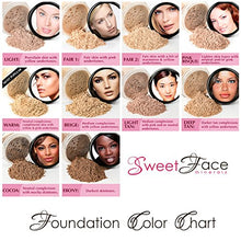 BULK REFILL FOUNDATION (FAIR 1) Mineral Makeup Powder Matte Bare Skin Sheer SPF 15 Cover (12 Grams)