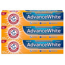 Image of Arm & Hammer Advance White Extreme Whitening with Stain Defense, Fresh Mint, 6 oz, 3 Count (Packaging May Vary)