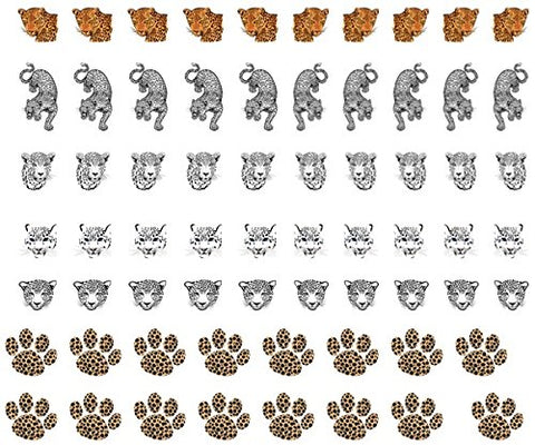 Leopard Collection (Leopard Nail Art Decals C1)