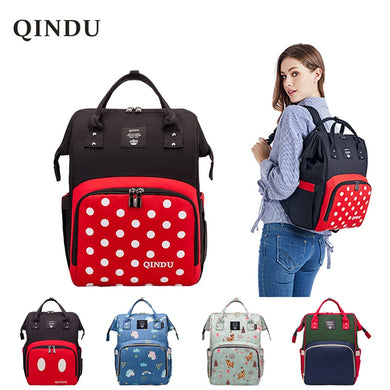 Large Capacity Diaper Bag Baby Backpack Multifunction Travel Packet Maternity Newborn Nappy Changing Bags Waterproof and Stylish