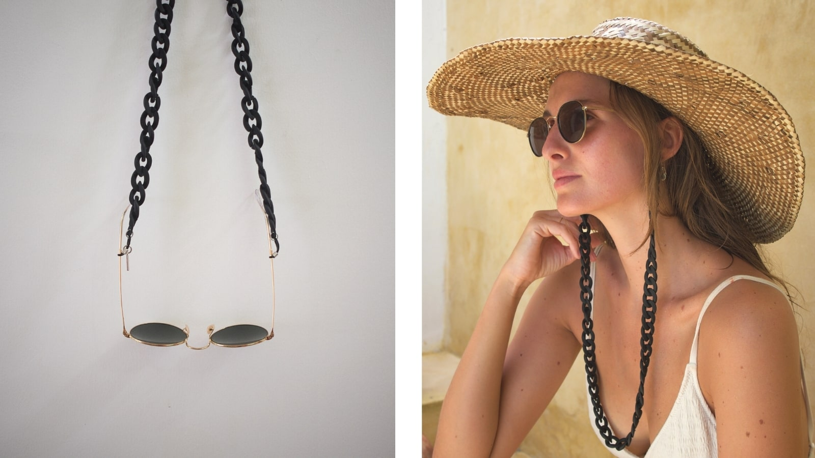 Kiki -Small Matt Glasses Chain