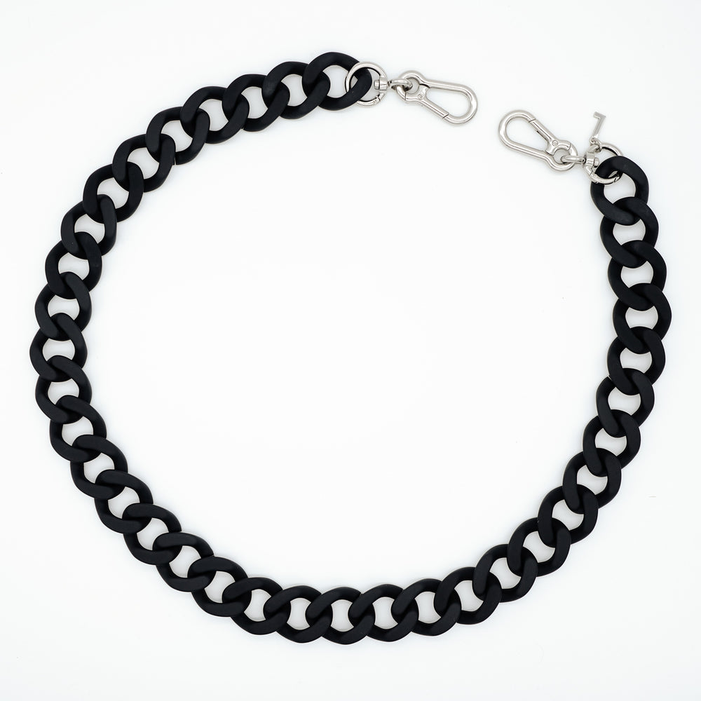 Load image into Gallery viewer, Laura bag chain in matt black