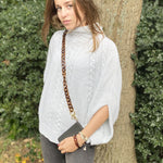 Juliette phone chain in transparent brown leopard