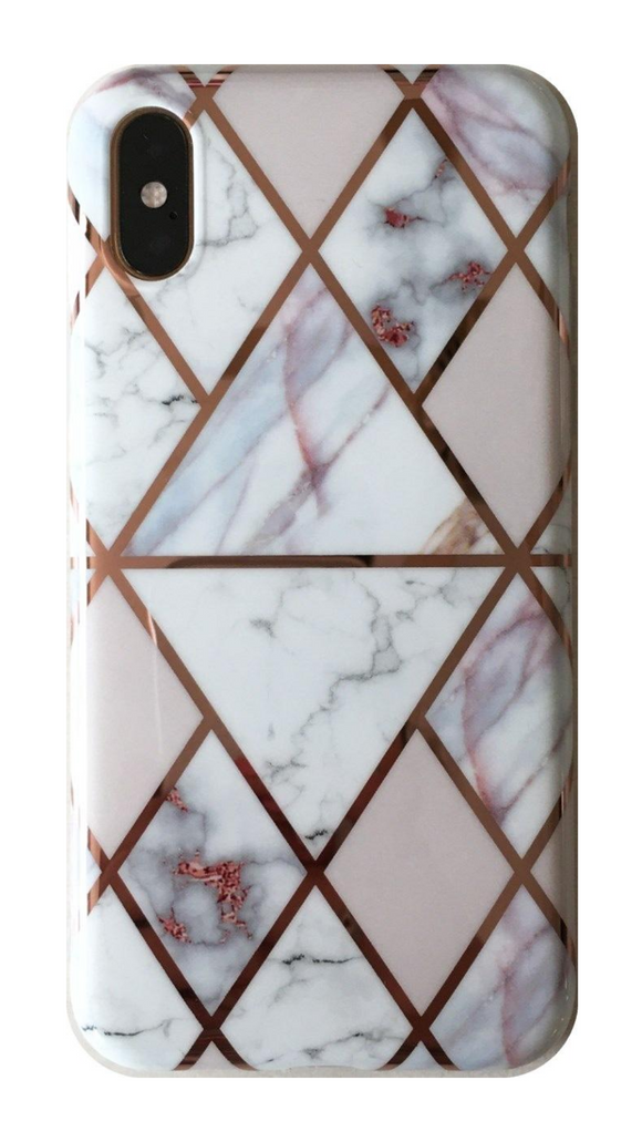 Geometric Marble - iPhone - Ella Fayth