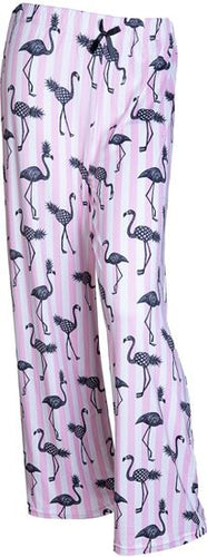 Flamingo Pineapple Pajama Pants, 4 Asst
