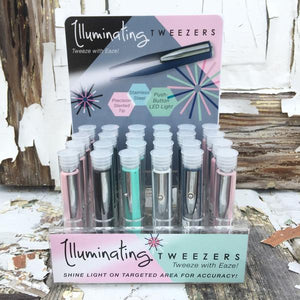 Illuminating Tweezers, 5 Asst.