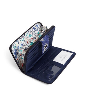 RFID Turnlock Wallet in Seahorse of Course
