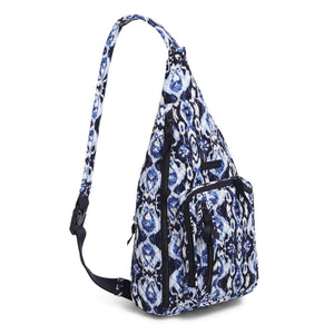 Sling Backpack in Ikat Island