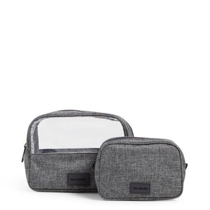 ReActive Cosmetic Bag Set in Gray Heather