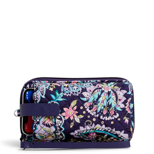 RFID Smart Phone Wristlet in French Paisley