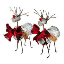 Reindeer Salt and Pepper Shakers