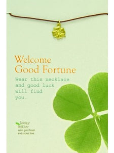 Welcome Good Fortune Necklace