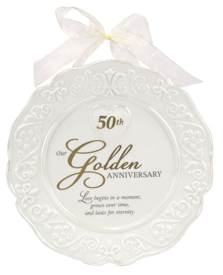 50th Anniversary Ceramic Plate