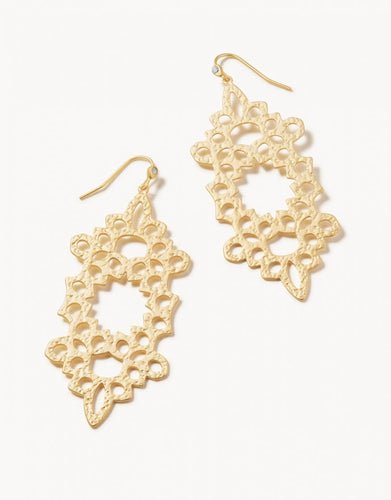 Garden House Earrings Gold