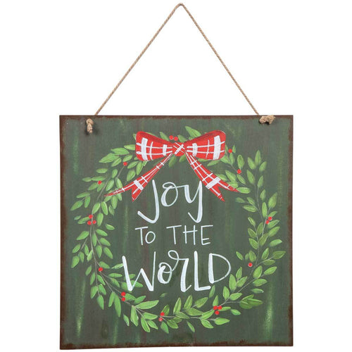 Joy to the World Door Sign