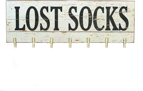 Lost Socks Sign