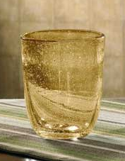 11 oz Double Old Fashion Amber Glass