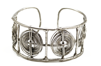 Basketweave Cuff