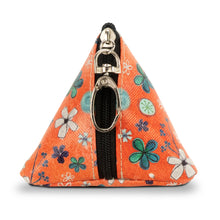 "Load image into Gallery viewer, ""Be Happy"" Small Triangle Bag"