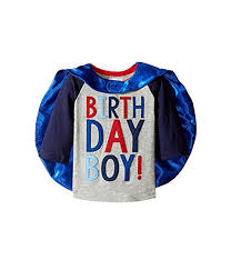 Birthday Boy Cape Shirt 12-18 Months