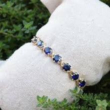 Load image into Gallery viewer, Dawn Clear or Sapphire Bracelet