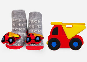 Teether Gift Set- Dump Truck