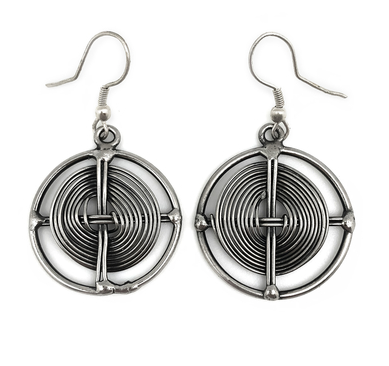 Basketweave Earrings
