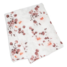 Load image into Gallery viewer, Lulujo Eucalyptus Bamboo Swaddle