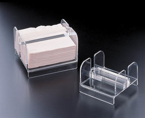 Acrylic Solid Bar Luncheon Size Napkin Holder