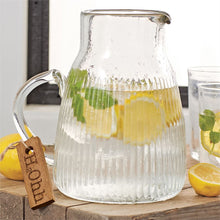 Load image into Gallery viewer, H2O Glass Pitcher