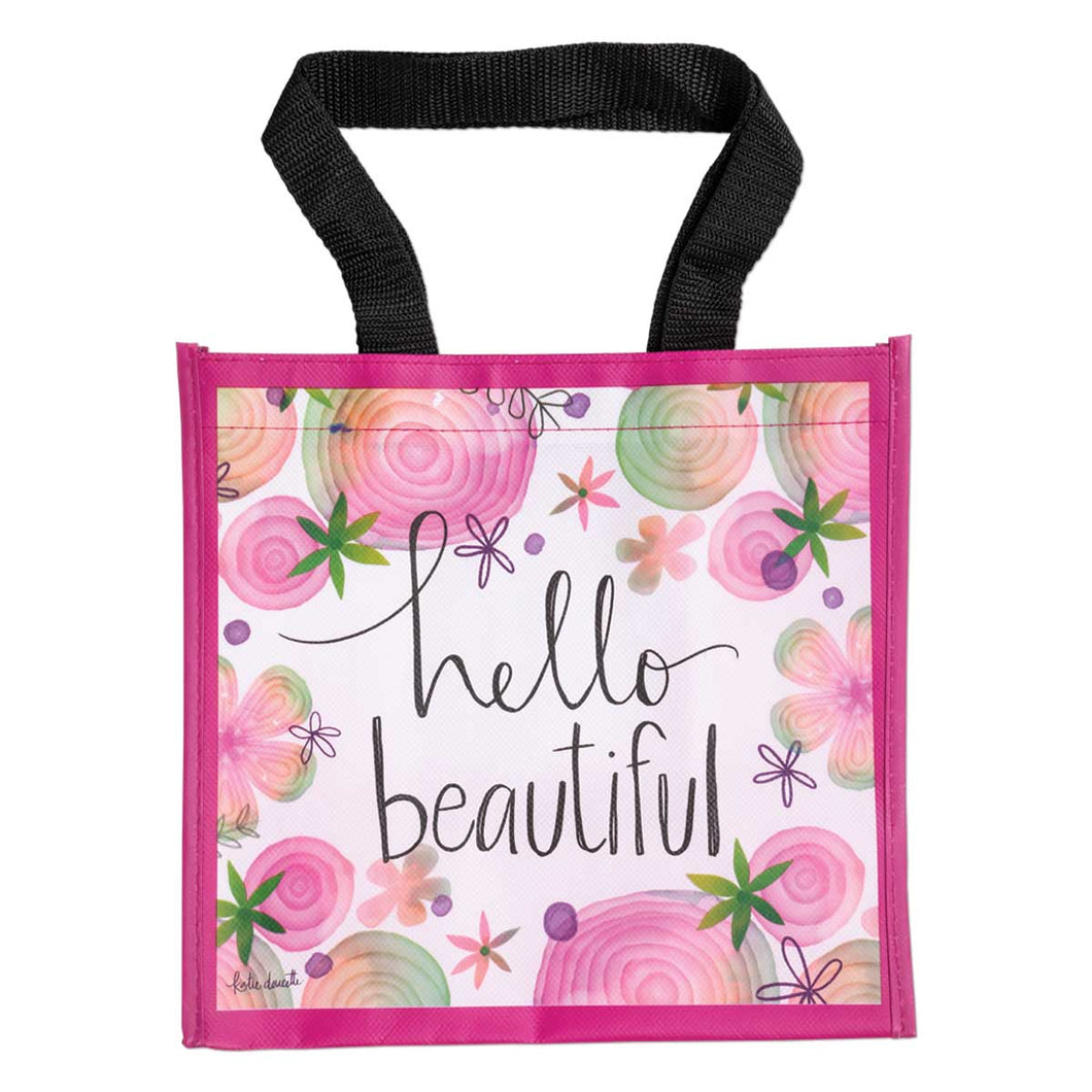 Hello Beautiful Simple Inspiration Tote