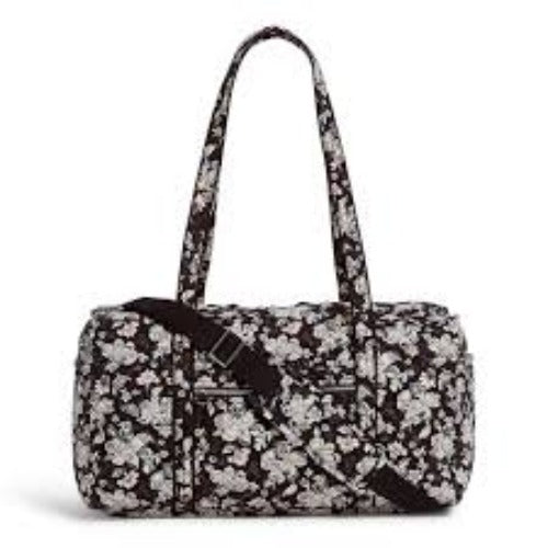 Vera Bradley Holland Garden Iconic Medium Travel Duffel
