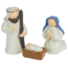 Holy Family 3 Piece Resin Set