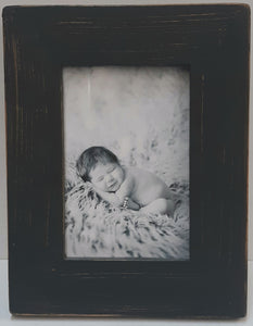 Black Wooden Frame