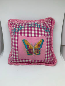 Butterfly Tooth Pillow