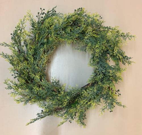 Cypress Wreath