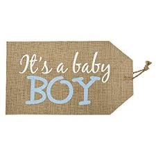 It's a Boy Door Tag