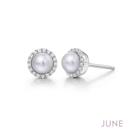 June Birthstone Earrings