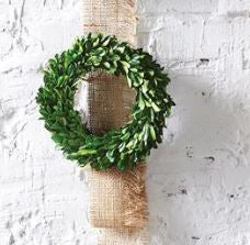 Preserved Boxwood Wreath 8 inch