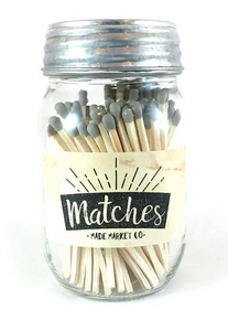 Mason Jar Matches