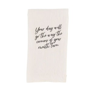 Paz-Itive Sentiment Towels