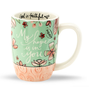 My Hope is in You Sculpted Mug