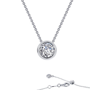 Solitaire Slider Necklace