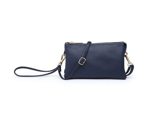 Riley Crossbody/Wristlet in Navy