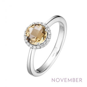 November Birthstone Ring