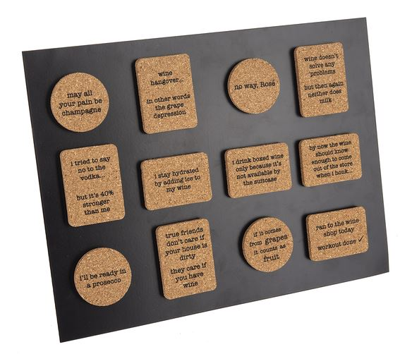 Quirky Cork Magnets
