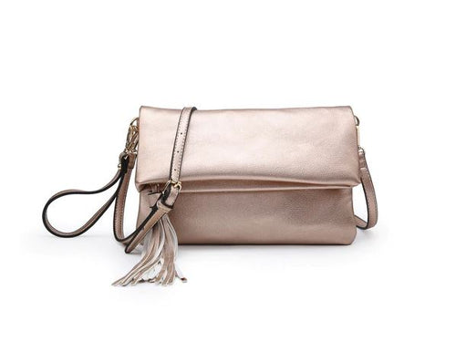 Austin Crossbody in Rose Gold