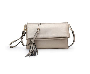 Austin Crossbody in Silver Gold