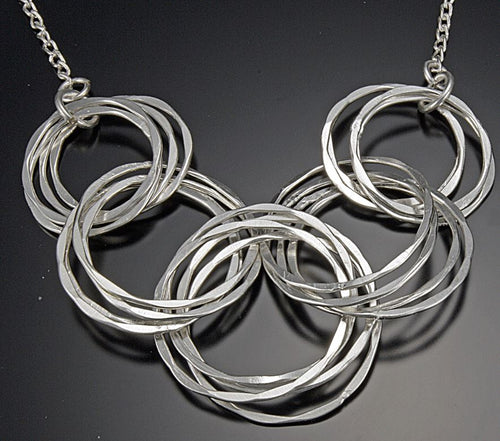 Small Silver Plated Necklace