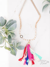 Load image into Gallery viewer, Ashlyn Rose Tassel Necklaces, Asst
